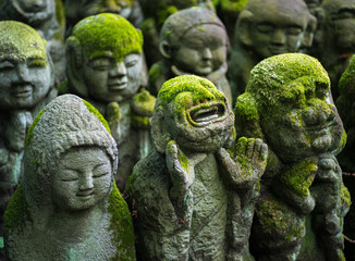 Fotomurales - Buddhistische Statuen