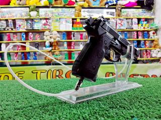 Air rifle in the funfair