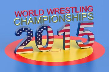 World Wrestling Championship 2015 Las Vegas concept