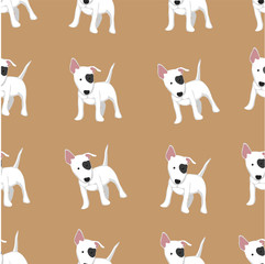 dog background seamless