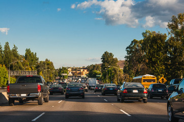 Traffic in LA area