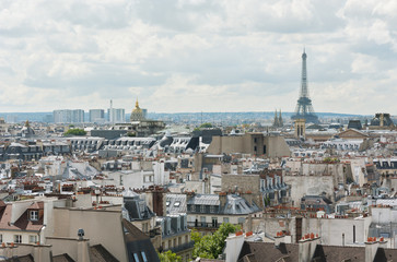 Paris skyline - Eiffel tower