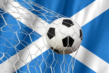 SCOTLAND symbol soccer ball