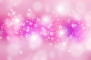 Pink Background Lights. Defocused