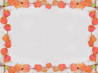 秋イメージのフレーム