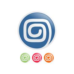 Mayan Spiral Icons