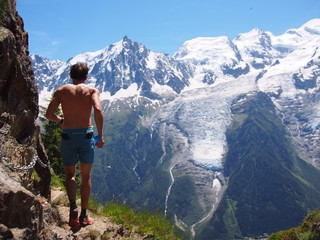 trailrunning in Chamonix, France
