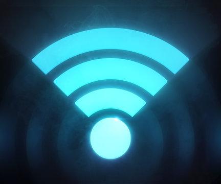 Wlan WiFi Glowing