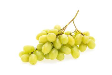 Grapes fruit isolated on white background
