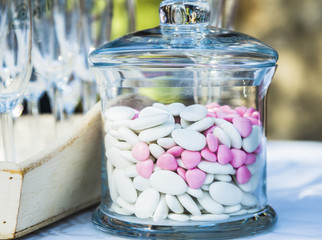 Fotorollo Süßigkeiten dragées de mariage