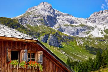 Mosermandl in austrian alps