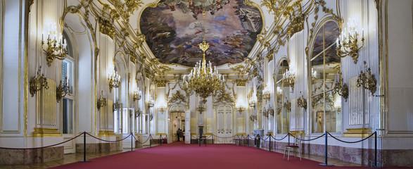 Schloss Schönbrunn Wien Innen grosse Galerie
