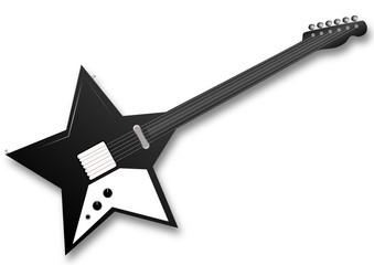 black star electric guitar
