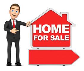 businessmen sells house