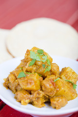 Curried potato