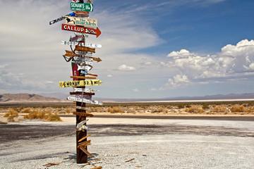 Desert Sign Post