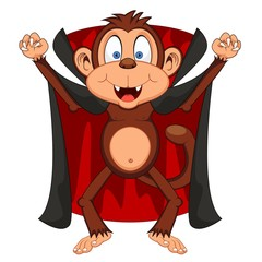 Vampire Monkey Cartoon