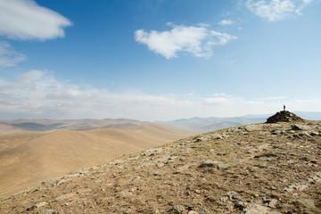 Landscape of Hustai National Park, Mongolia
