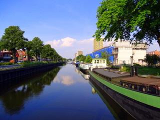 Hausboote in Groningen