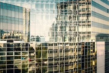 Bürogebäude abstrakt