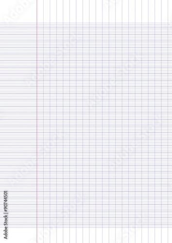 feuille de papier a4 grands carreaux stock image and