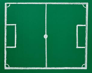 soccer football chalkboard blackboard strategy field