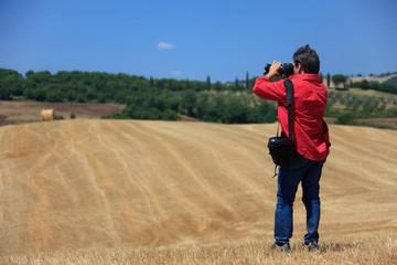 Scatti fotografici in Val D'orcia,