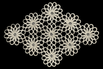 Lace ornament