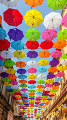 Umbrella Colors explosion