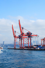 Seaport Cranes