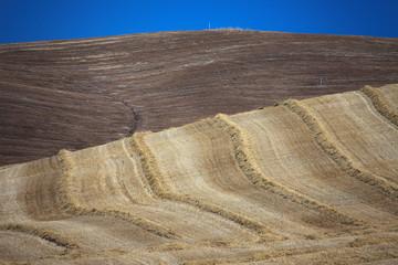 Val d'Orcia, i colori della terra