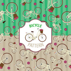 Pattern bicycle set, number 4