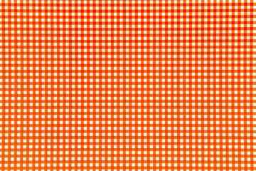 Righe arancioni e quadrati bianchi