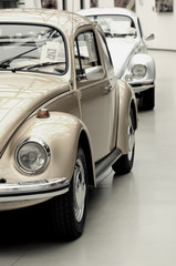 Foto op Plexiglas Oude auto s Fragment of beautiful stylish old cars. Vintage style.
