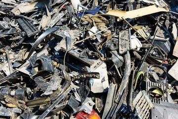 Dump of car wrecks
