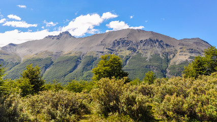 View of a mountain, Tierra del Fuego National Park, Ushuaia, Argentina
