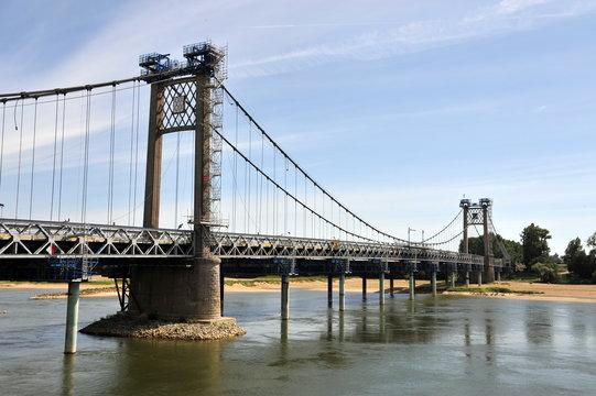 Le pont suspendu d' Ancenis