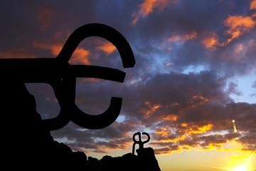 """Sculpture """"Peine del viento"""", in Donostia"""