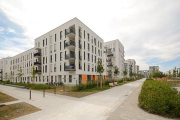 Neubau Wohnanlage - Wohnungen in der Stadt