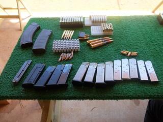 銃の弾と弾倉 Ammo and Magazines
