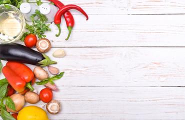 Photo sur Aluminium Cuisine Concept of cooking.