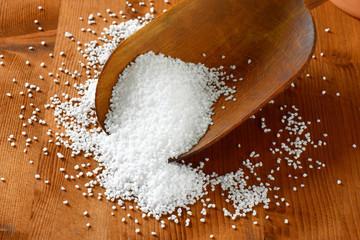 Fototapeta Coarse grained salt obraz
