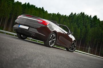 cg Cabriolet/Roadster von hinten Wall mural
