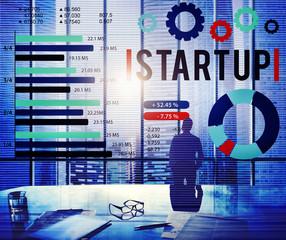 Startup New Business Growth Sucess Development Concept