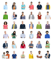 Diverse People Global Communications Technology Concept