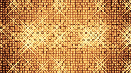 An abstract golden glittery background.