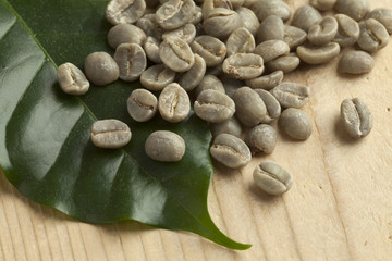 Pambamwa green unroasted coffee beans