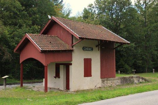 Gare de Chirac-Bellevue.(Corrèze)