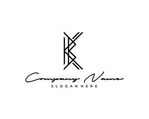 BK KB Letter Logo Icon