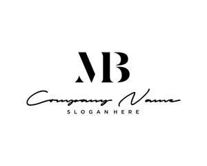 MB Letter Logo Icon
